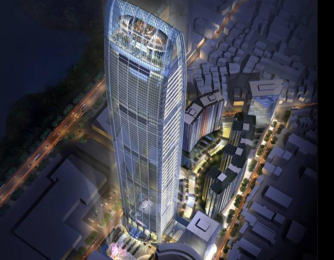 超高层建筑核心筒及其电梯设计实例分析(共86页)