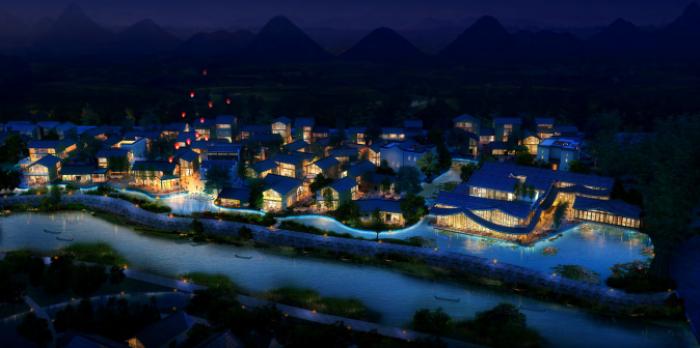 [广西]桂林风情古镇老街乡村景观设计方案(赠项目lumion动画)-效果图17