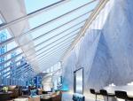 大型企业大堂和咖啡厅室内设计效果图(含3D模型,材质,光域网)