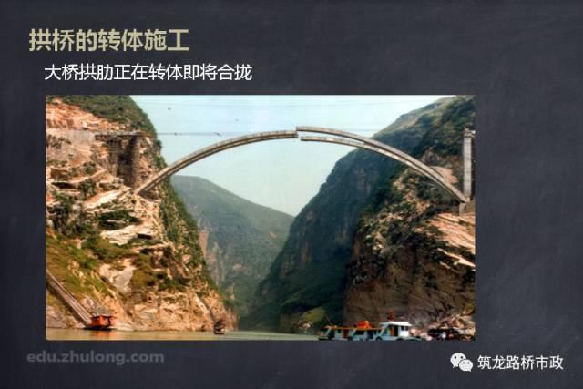 拱桥的转体施工
