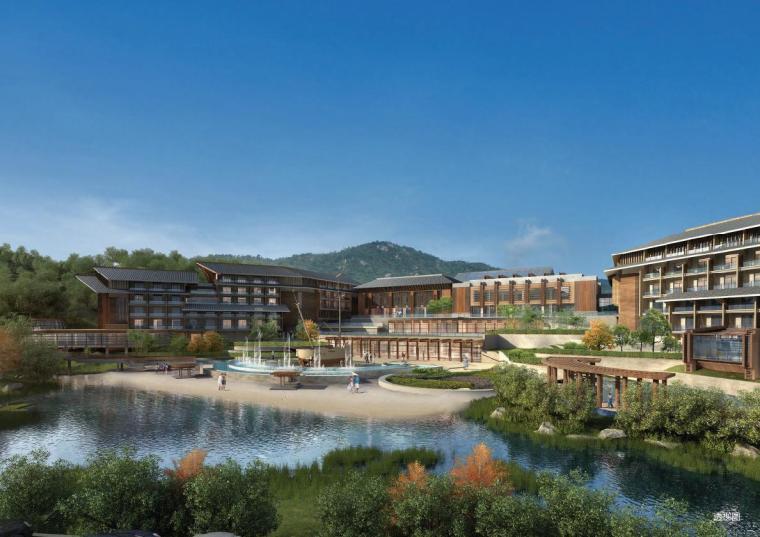 新中式风格国际度假酒店建筑设计方案文本分享_2