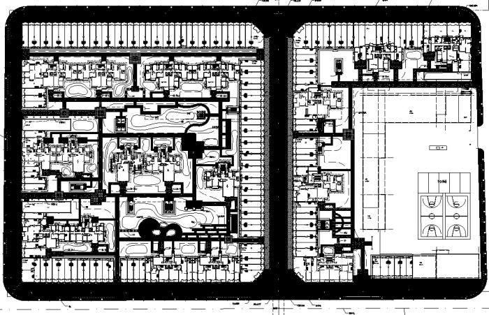 [内蒙古]国际化城市综合体居住区景观设计全套施工图