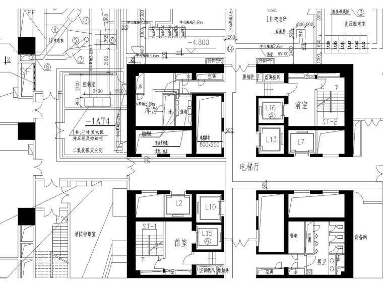 某五十二层超高商务中心(附电气、建筑、结构、空调、水多张图纸)_2