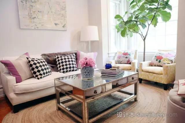 小户型客厅这样设计,轻松变大10㎡!