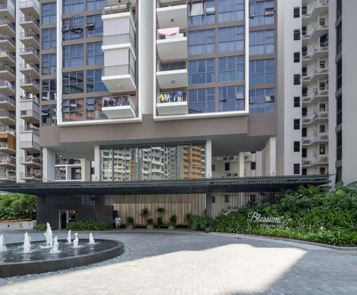 新加坡Blossom生态型公寓景观