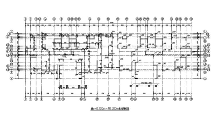 18层剪力墙结构住宅结构施工图(CAD、32张)