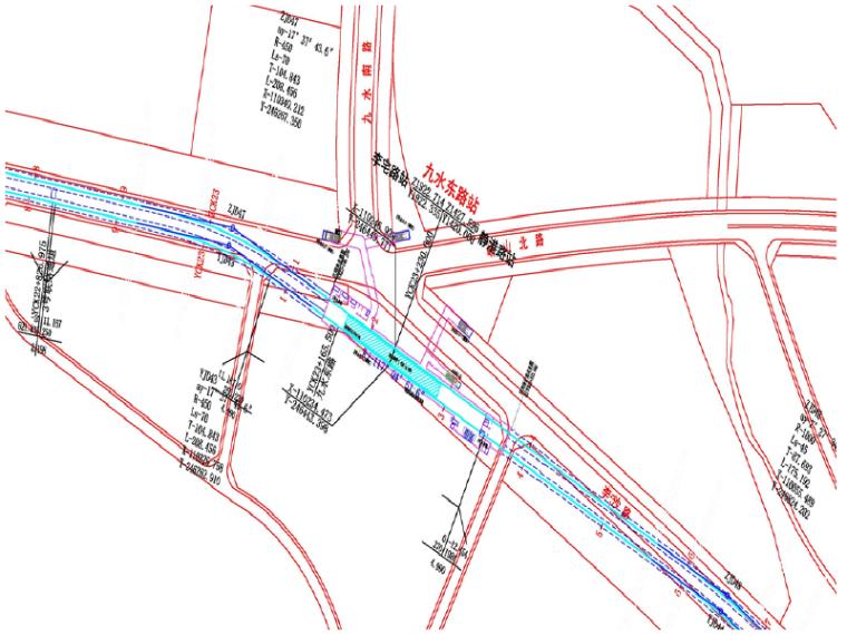 青岛地铁九水东路站初步设计汇报PPT