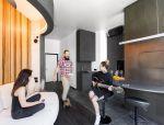 60㎡ 卧室和客厅合为一体,这样设计真的很少见