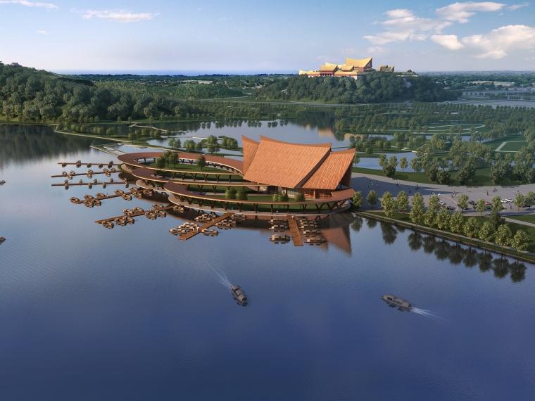 [云南]东南亚风格景区大码头候船大厅设计方案文本(PDF+CAD)