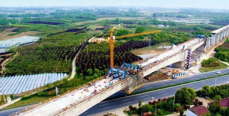 快讯:合安、连徐高铁建设取得重要进展!_1