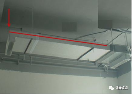 风管安装常见11项质量问题实例,室内机安装质量解析!_17