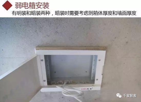 家庭装修弱电布线施工规范及常见问题_11