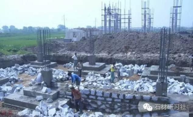 [干货]各种石头墙的砌法工艺