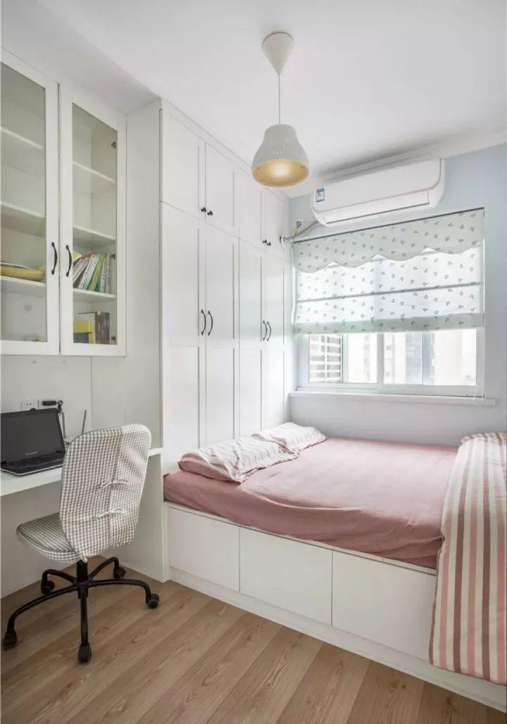 榻榻米床+柜子如何组合设计?35个案例告诉你..._7