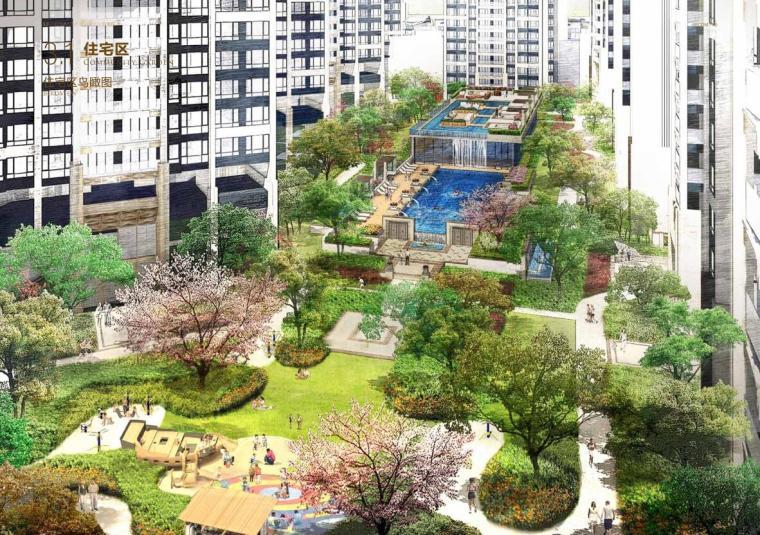 [广东]龙光玖龙玺居住区景观方案设计(PDF+114页)