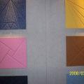 素板1220*2420*9聚酯纤维吸声板最环保的吸声吸声材料,聚酯纤维板