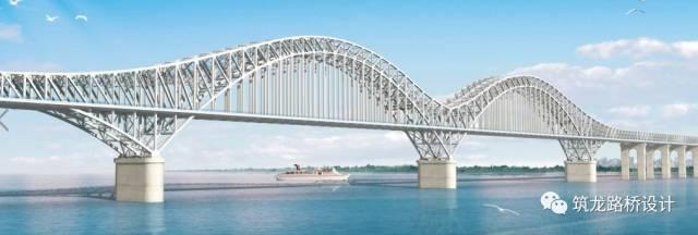 南京大胜关长江大桥钢桁拱架设墩旁托架结构设计与施工