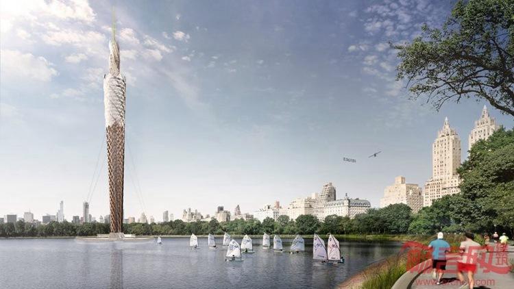 #每日毒评#纽约中央公园木质大楼方案