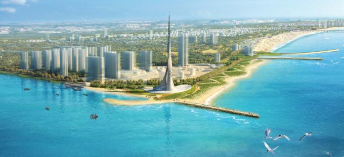 [山东]海滨生态城市地标黄金海岸景观规划设计方案_3