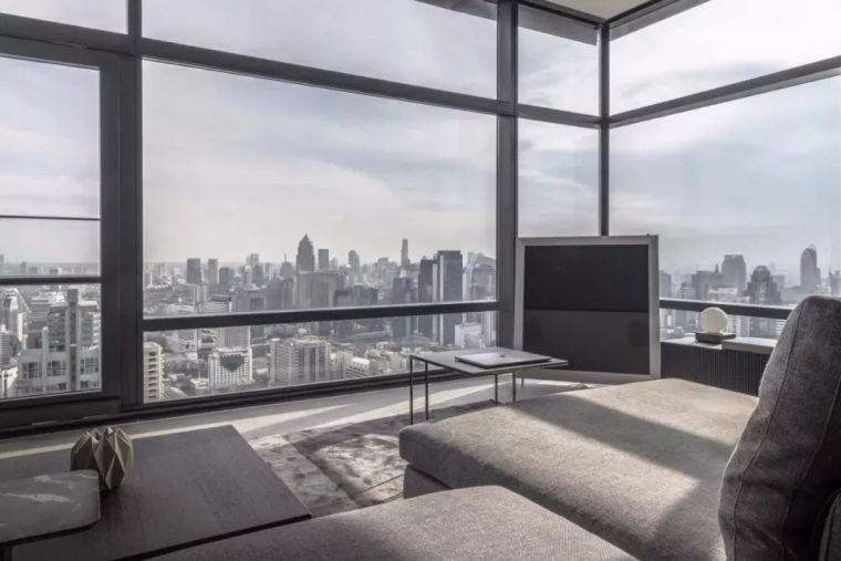 室内设计 130㎡的单身公寓,设计感十足_16