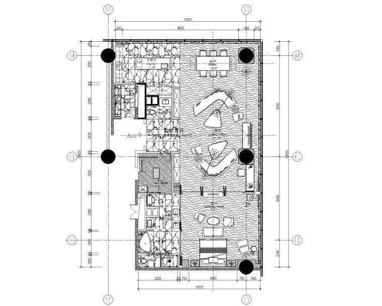 [湖南]CCD-株洲大汉希尔顿酒店行政客房层竣工图+设计方案