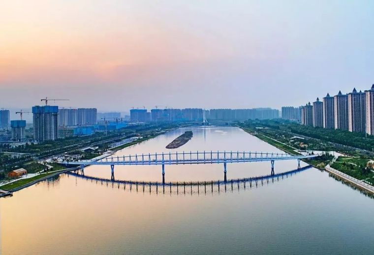 """太原""""汾河之冠""""人行景观桥,尽展结构技艺之美!_25"""