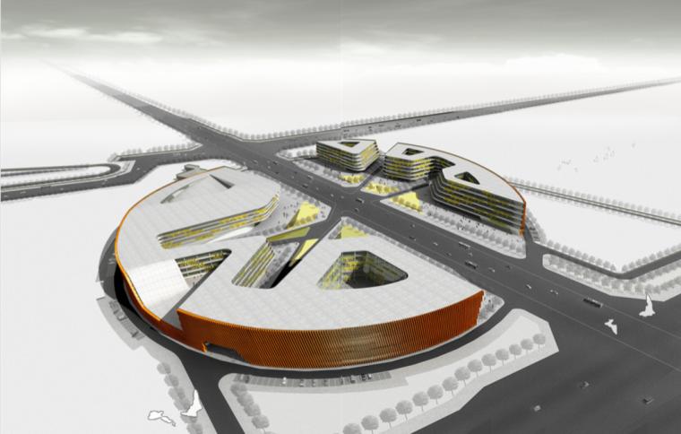 [河南]未来感大学科技研发基地项目建筑设计方案文本
