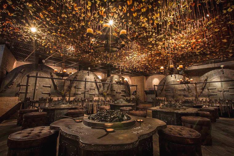 矿洞创意概念——香港TheIronFairies酒吧-1