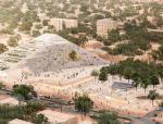 francis kéré揭晓了为布基纳法索新国家议院设计的阶梯式金字塔方