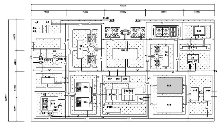 河北某给水厂毕业设计(包括图纸、说明及全套毕业设计提交文件)