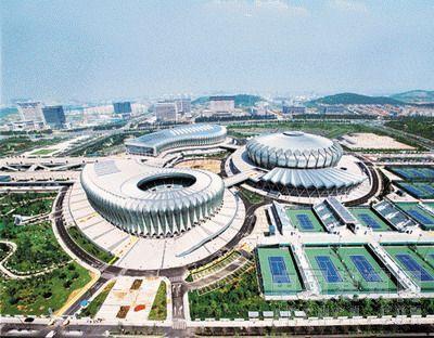 济南奥体中心体育馆弦支穹顶结构设计