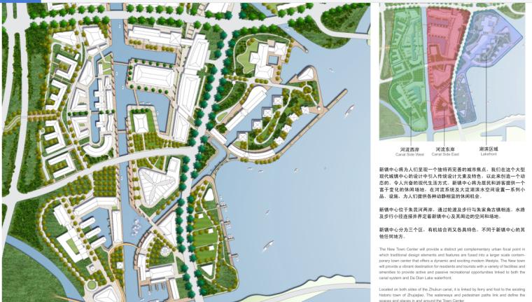 [上海]某美丽乡村新镇总体景观规划设计_8