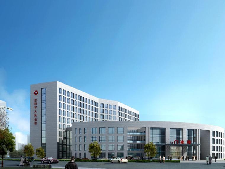 [四川]阳沱某医院建筑方案设计文本(JPG+32页)