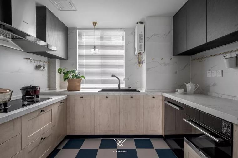 厨房比客厅还好看,让你爱上做饭!!_4