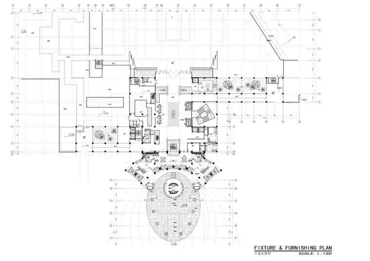 [云南]CCD-昆明铂尔曼度假酒店CAD施工图(附效果图)
