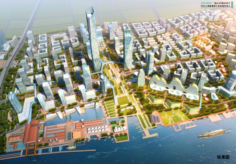 [上海]杨浦滨江城市设计方案文本