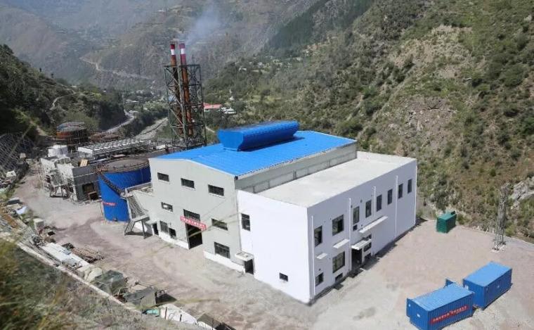 巴基斯坦SK水电站项目重油发电站首台机组正式运行_3