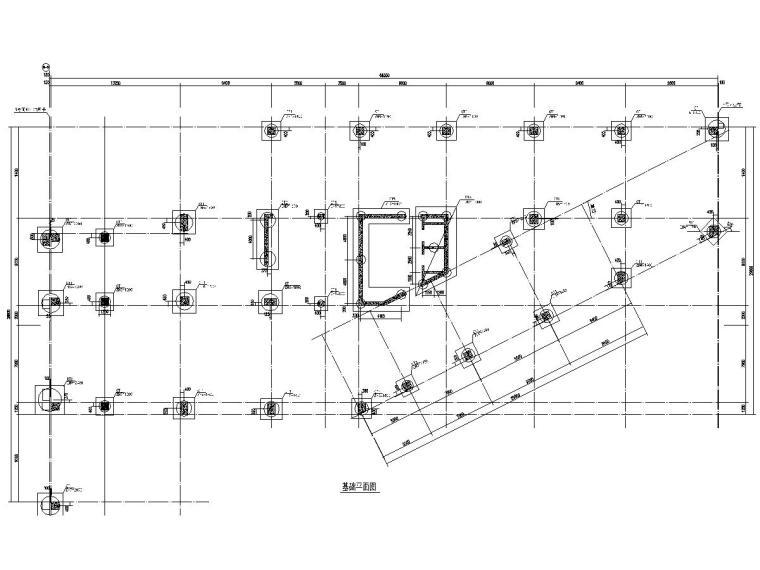 [广东]14层框架剪力墙结构办公楼结构施工图