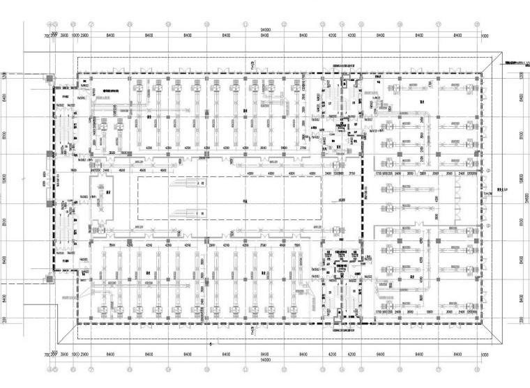 [江苏]超高层商业办公综合楼空调通风防排烟系统施工图(机房设计)