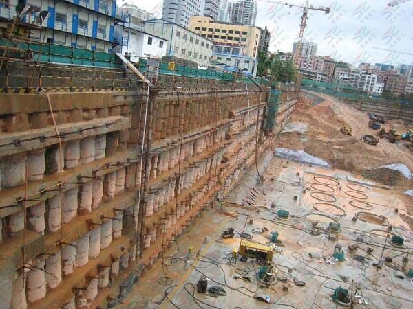 基坑支护中旋挖桩施工方法及质量控制