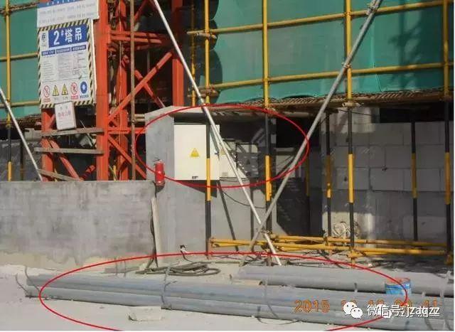 总结的太好了!建筑施工现场临时用电常见隐患、错误做法都在这呢_12