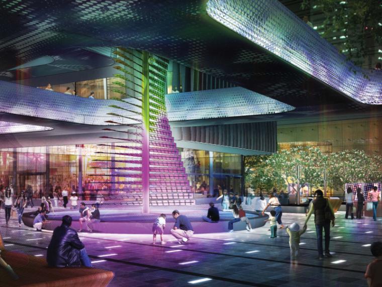 [广东]深圳前滩商业景观设计方案(PDF+170页)