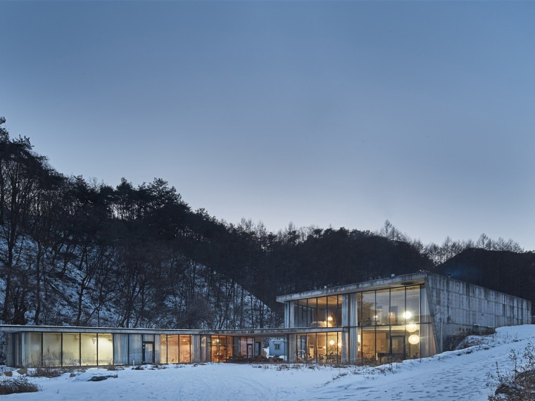 韩国人与自然的交流住宅
