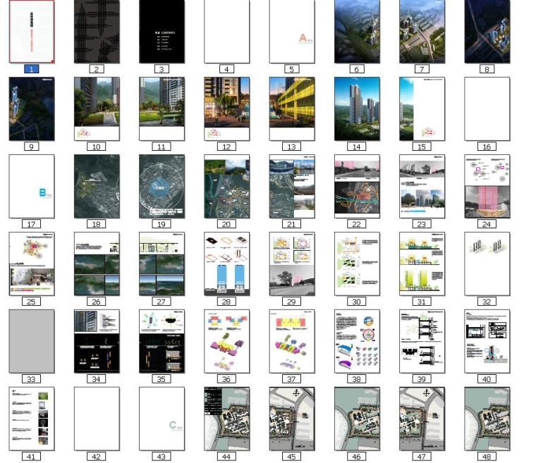 现代风格顶级生态豪华超高层住宅及高层住宅建筑缩略图