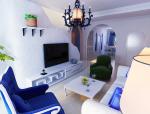 地中海风格客餐厅3D模型下载