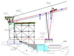 悬索桥边跨无索区钢箱梁安装施工工法