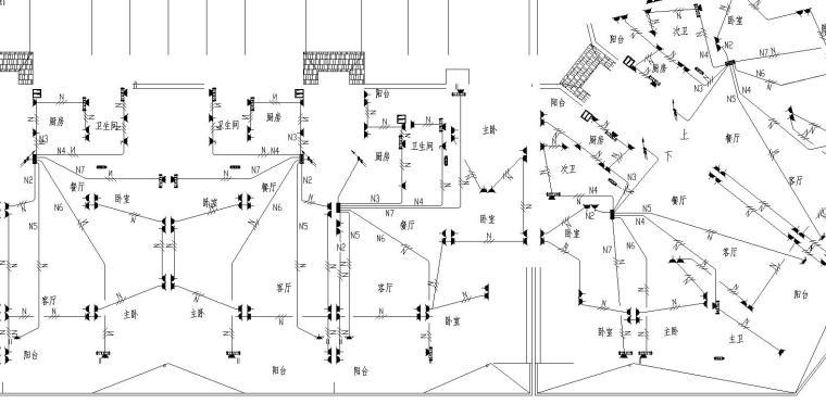 某综合楼电气施工图