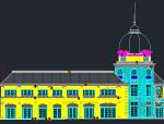 重庆融创金裕项目商业楼建筑施工图及外墙大样图