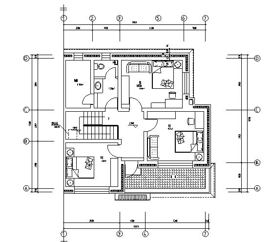 [河北]新农村民居设计施工图