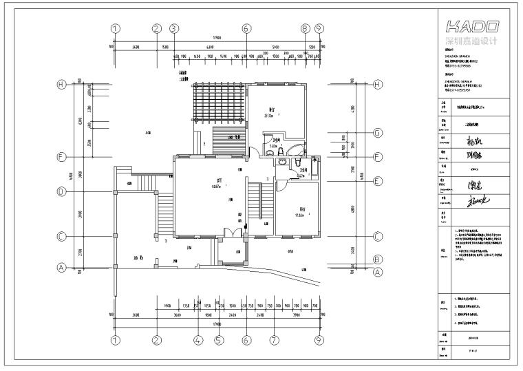 托斯卡纳风格别墅室内设计施工图及效果图